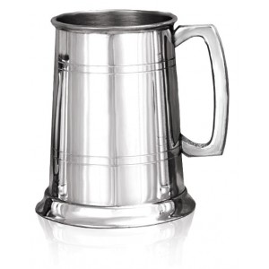 Double Banded Tankard with square handle