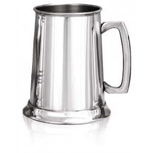 1 Pt, Plain Tankard with square handle