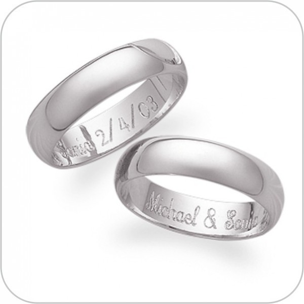 Signet engagement wedding ring engraving engraved at for Engravings on wedding rings