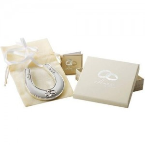 Amore By Juliana Silver Plated Horse Shoe With Rings Icon