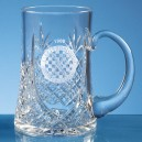 Lead Crystal Panel Tankard (Large, 0.57ltr)