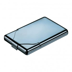 Chrome Business/Credit Card Holder