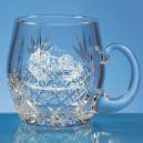 Lead Crystal Barrel Tankard (Small, 0.3ltr)