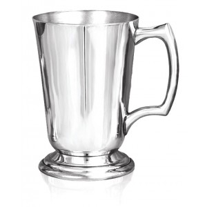 Wide Brimmed, Straight Sided Tankard