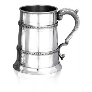 Double Celtic Banded Tankard